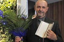 Oceněný novinář Alexandr Mitrofanov.
