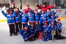 Mladí chotěbořští hokejisté.
