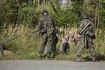 V Chotěboři si velkolepou akcí připomněli konec druhé světové války.