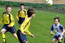 O překvapení se postarali žáci brodského Slovanu, když vyhráli všechny zápasy v Břeclavi.