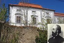 V Thunovském letohrádku dožil svoje dny vnuk slavného skladatele České mše vánoční.