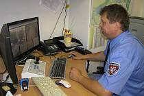 Ředitel Městské policie Chotěboř Jiří Novotný.
