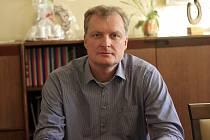Ředitel Psychiatrické nemocnice Havlíčkův Brod Jaromír Mašek.