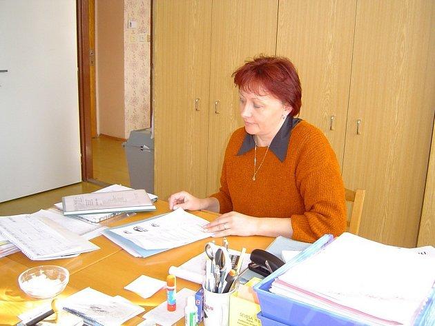 """V Dlouhé Vsi na Havlíčkobrodsku postrádají kronikáře již dlouhou dobu. """"Zatím vedeme o dění v obci aspoň pravidelné záznamy,"""" vysvětlila starostka Ludmila Němcová."""