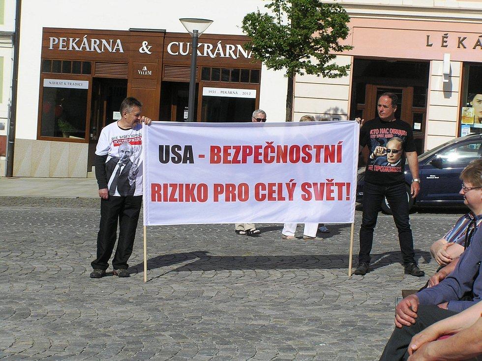 První máj v Havlíčkově Brodě.