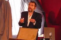 Jaroslav Achab Haidler ve představení Pan Theodor Mundstock.