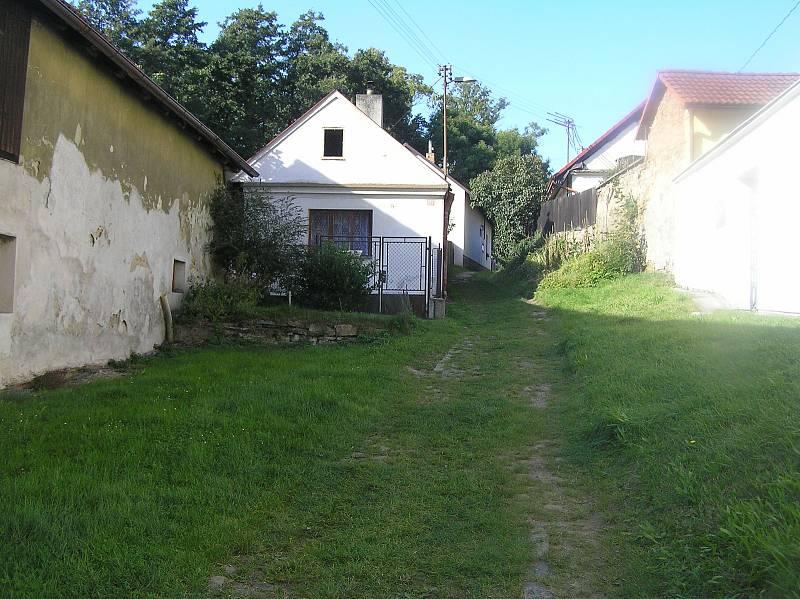 Ulice v bývalé židovské čtvrti.
