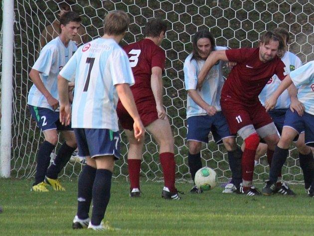Sekundy dělily fotbalisty Lučice od získání bodu v Mírovce.