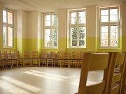 Zrekonstruovaný pavilon číslo 5 havlíčkobrodské psychiatrické nemocnice.