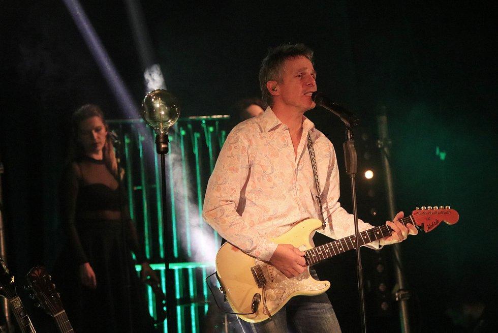 Vánoční koncert Janka Ledeckého v KD Ostrov Havlíčkův Brod.