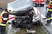 Tak dopadla jedna z ošklivých nehod u Svatého Kříže.