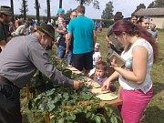 Poslední srpnová neděle na Keřkově byla ve znamení myslivosti. Konal se zde první ročník Mysliveckého dne.