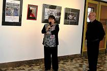 Výstava fotografií Ivo Havlíka je v kulturním domě k vidění po celé jaro.
