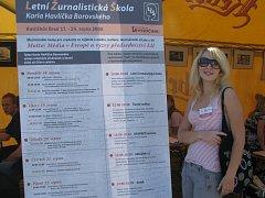 Letní žurnalistická škola v Havlíčkově Brodě. Ilustrační foto.