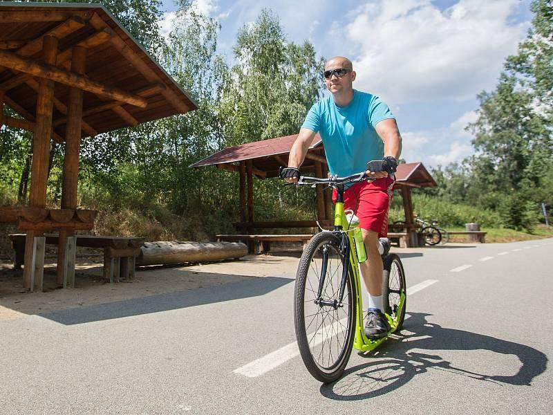 Cyklostezka Přibyslav - Sázava.