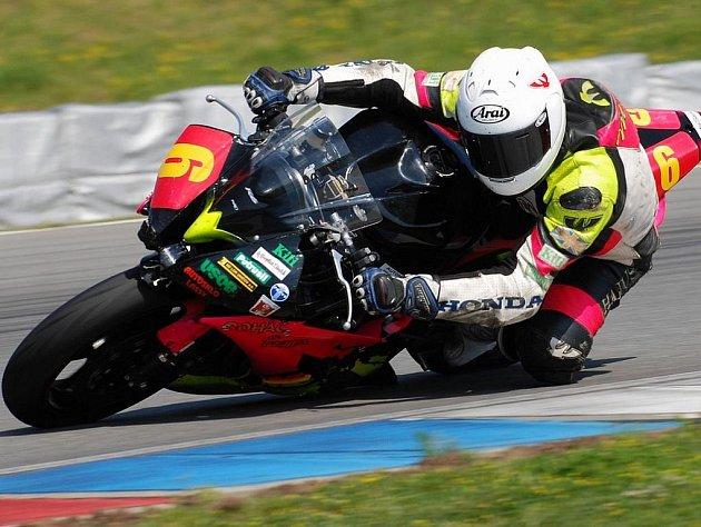 Havlíčkobrodskému jezdci Michalu Práškovi se nepodařilo zopakovat druhé místo z brněnského okruhu.