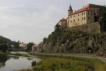 Hrad v Ledči nad Sázavou.