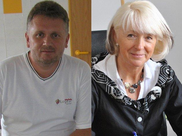 Pavel Antonín a Jana Fischerová.