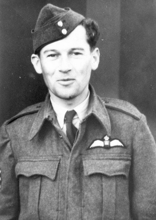 Imrich Gablech v uniformě RAF.