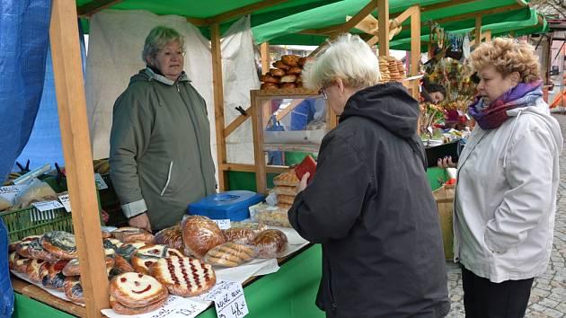 Farmářské trhy ve Světlé nad Sázavou.