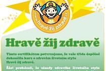 Žáci 5.A z havlíčkobrodské Základní školy Konečná se jako jediní z okresu zapojili do internetové vzdělávací soutěže Hravě žij zdravě a v kraji Vysočina v celkovém pořadí obsadili druhé  místo.