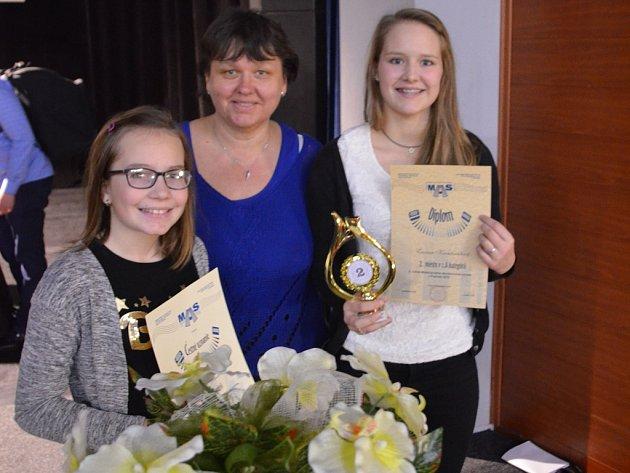 Z havlíčkobrodské ZUŠ J. V. Stamice se soutěže zúčastnily dvě akordeonistky ze třídy paní učitelky Ivany Laštovičkové.