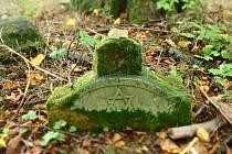 Pohřebiště židovských uprchlíků z 1. světové války je jediné v Česku.