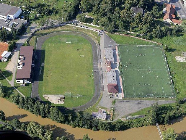 Sportoviště v areálu Na Losích čeká rekonstrukce. Ilustrační foto.