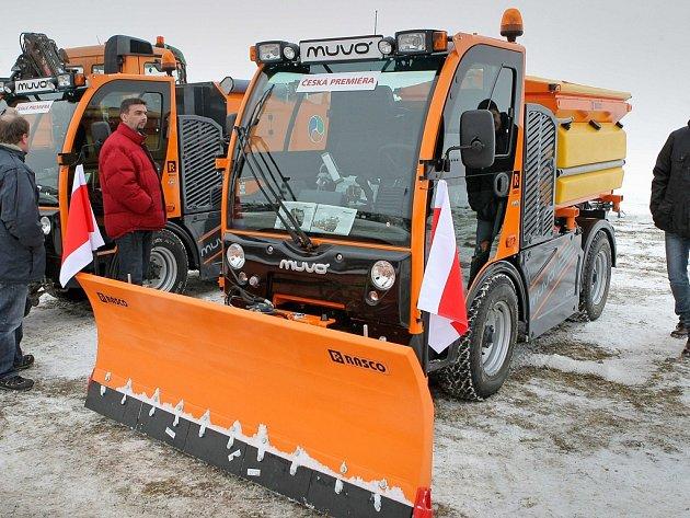 MUVO. V české premiéře byly včera v Havlíčkově Brodě představeny víceúčelová vozidla značky RASCO MUVO.
