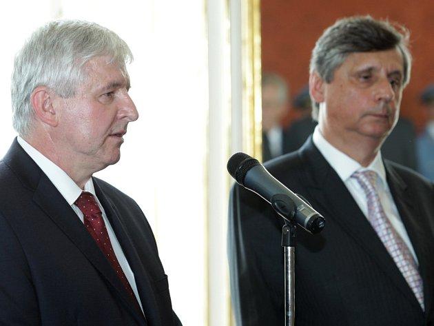 Jiří Rusnok a Jan Fischer.