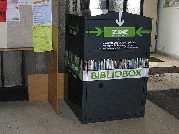 Čtenáři se rychle naučili  biblioboxy využívat.