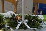 Tradiční vánoční výstava Domova Háj.