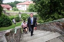 Prohlídka Sobíňova vítěze soutěže Vesnice roku 2019 Kraje Vysočina.