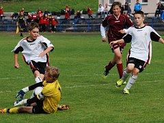 Šance v zápase se Znojmem neproměnili starší žáci U15 a se soupeřem se rozešli bez branek.