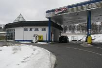 U čerpací stanice v Olešné teď motoristé pohonné hmoty nenakoupí