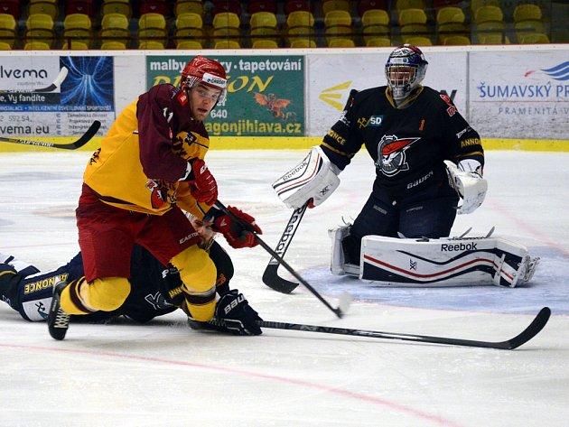 Dukla se proti Chomutovu prezentovala aktivním hokejem, ale nedokázala své šance využít. Nakonec v poslední minutě prodloužení rozhodl o výhře Jihlavy Tomáš Čachotský.