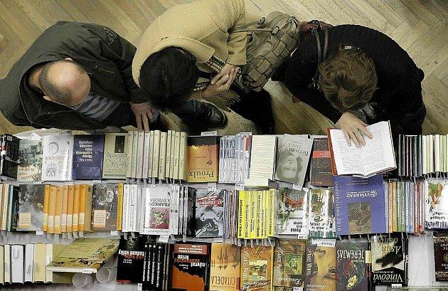 Podzimní knižní veletrh v Havlíčkově Brodě. Ilustrační foto