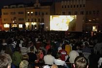 Od 14. do 18. srpna bude na Havlíčkově náměstí opět připraveno letní kino. Ilustrační foto.
