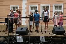 V Přibyslavi se předvedli i žáci pěvecké třídy Michaely Štefáčkové.