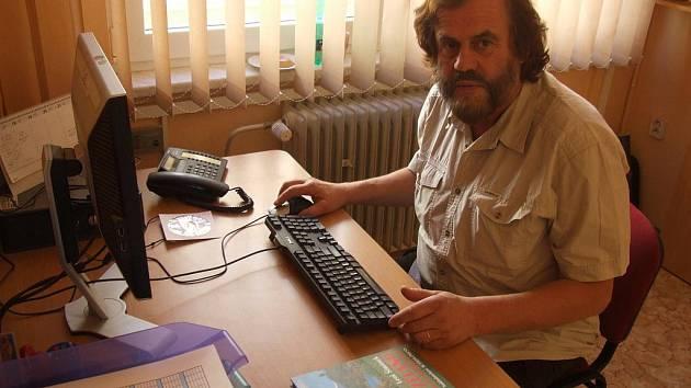 Leoš Šimánek při on-line rozhovoru