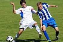 Jednoznačné utkání sehráli brodští dorostenci U19 na hřišti v Holicích, kde se střetli s HFK Olomouc. V sobotu zajíždějí k druhému celku tabulky do Hranic na Moravě.