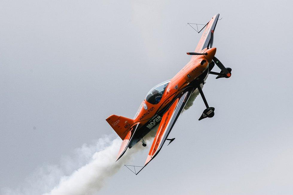 V úterý 23. května se v areálu letiště v Počátkách uskutečnila tisková konference k nadcházejícímu Mistrovství ČR a Mistrovství Evropy v akrobatickém létání.