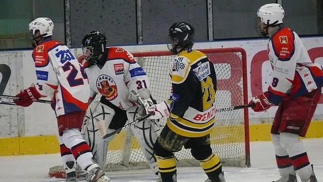 Prohru si přivezli mladší dorostenci HC Rebel z Českých Budějovic, kde vstřelili pouze jednu branku.