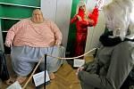 Výstava Katastrofy lidského těla v Havlíčkově Brodě.