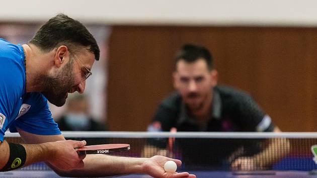 Stolní tenisté HB Ostrov vyhráli už šestnáct zápasů v řadě.