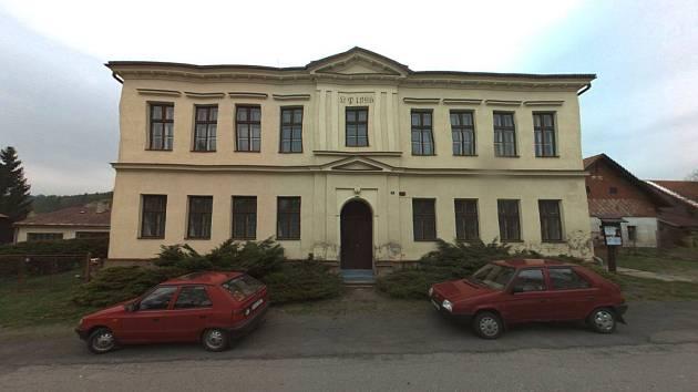 Muzeum v bývalé škole Horní Studenec.