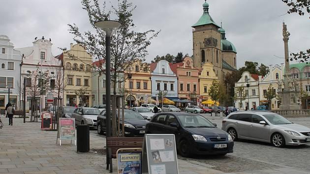 Havlíčkobrodké náměstí.
