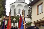 Hasičská oslava v Netíně.