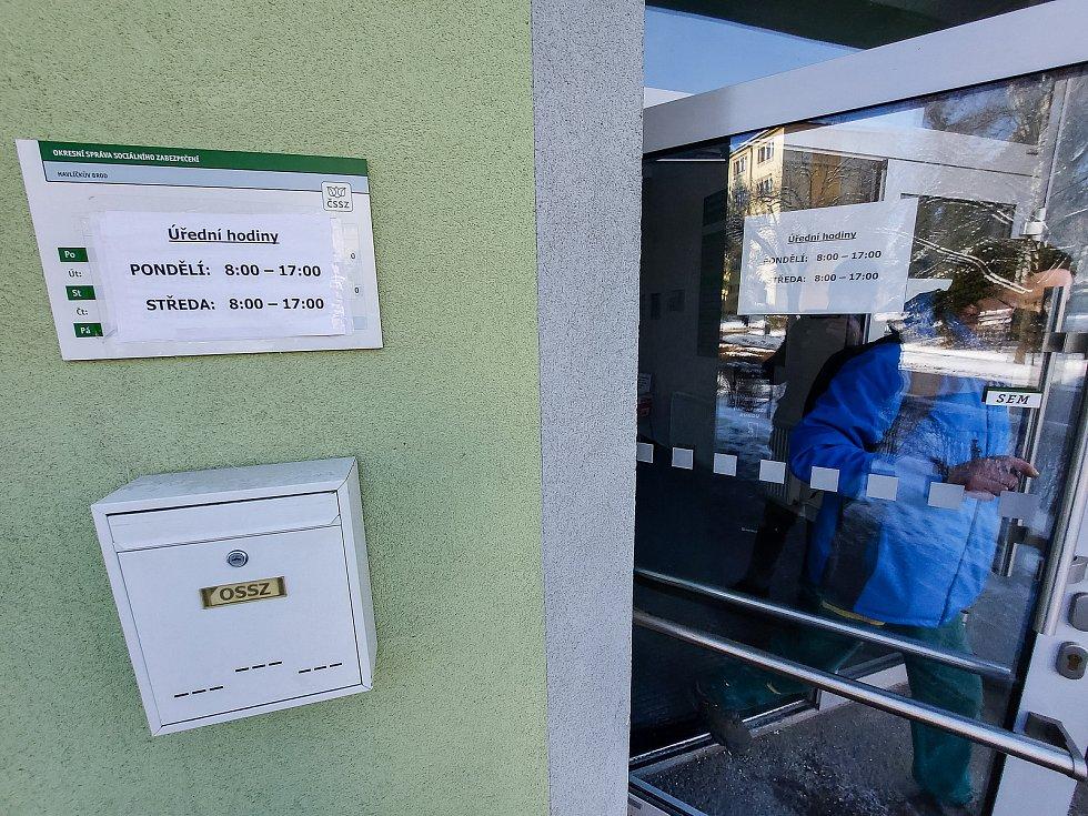 Okresní správa sociálního zabezpečení v Havlíčkově Brodě.