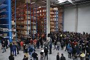 Slavnostní otevření logistické haly